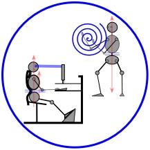 Ergonomic Man & Tai Chi Man: medical structural therapy